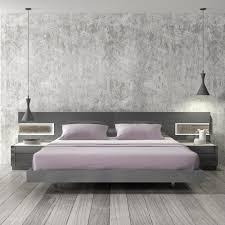 Lacquer Bedroom Furniture Jm Furniture Braga Platform Bed In Grey Lacquer Beyond Stores