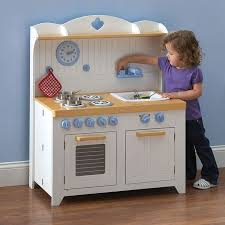 Kitchen, Breathtaking Play Kitchens For Toddlers Play Kitchen Wood Brown  Play Kitchens