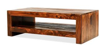 the simplicity of this coffee table is its beauty too designed for modern living its dark toned sheesham wood construction offsets the minimalism by