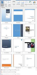 Add A Cover Page To A Word Document