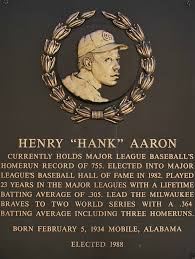 Image result for Aron was inducted into the Baseball Hall of Fame in 1982.