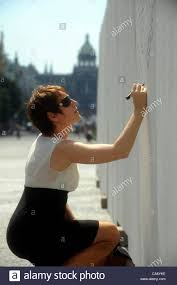 People write messages on The Wall for Pussy Riot to support the.