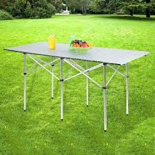 camping coffee table portable outdoor camping table with bag roll up mesa camping coffee table with camping coffee table