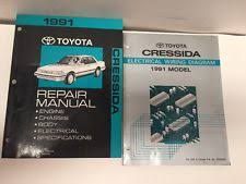 s l jpg 1991 toyota cressida oem factory repair manual and electrical wiring diagram set