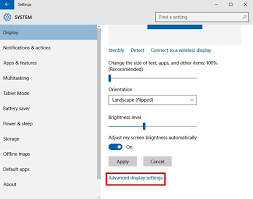 how to reduce screen size how to change screen resolution display settings in windows 10