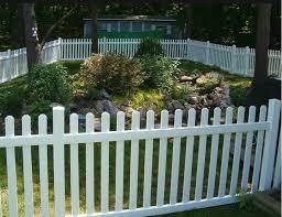 picket fence design. Vinyl Picket Fence Design