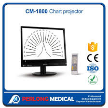 Digital Vision Chart Cm 1800 Optical Testing Charts Auto Digital Lcd Chart Projector