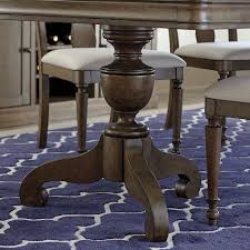 Pedestal Dining Table French Rustic Double Pedestal Dining Table