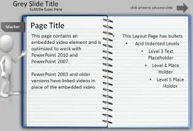 Notepad Template Animated Notepad Page Turn Effect For Powerpoint Presentations