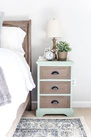 Image Maple Two Tone Nightstands Makeover Blesserhousecom Plain Nightstands Get Colorful Two Tone Makeover Using Fusion Mineral Paint Brook And Algonquin Pinterest Two Tone Nightstands Makeover Furniture Makeover Colorful