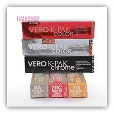 Joico Vero K Pak Hair Color Chart Amazon Com Joico Vero K Pak Hair Color Red Controller 2 5