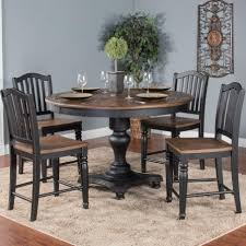 Sunny Designs Bourbon Trail 5 Piece Round Table Chair Set