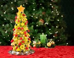 fruit christmas decorations. Modren Fruit Christmas Fruit Tree On Table Inside Fruit Christmas Decorations E