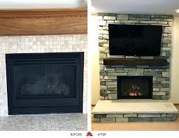twin city fireplace before and after photos of a fireplace we just finished in golden valley twin city fireplace