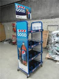 Gondola Display Stands Beauteous Supermarket Gondola Shelving Powder Coating Cola Merchandising
