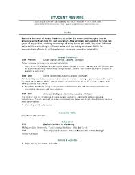Objective For Graduate School Resume Examples Graduate School Resumes Examples College Student Resume Objective 73