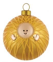 Palle Presepe - Gesu Bambino Christkind große Weihnachtskugel Alessi AMJ13  1