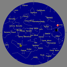 April 2017 Star Chart Manheim Township Astronomy Club Mtac April Star Watch