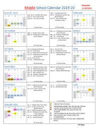 School Calendar Template 2015 2020 School Year Calendars Wlwv School Calendars