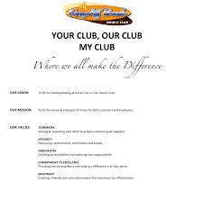 my vision statement sample our club kingscliff beach bowls club