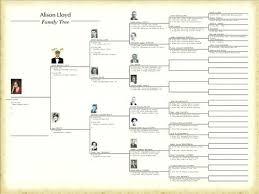 Descendant Chart Template Excel – Poquet