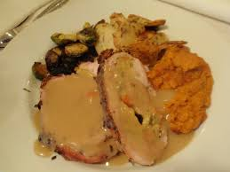 American Test Kitchen Turkey Test 32 Turkey Roulade With Cornbread Stuffing Bon Appactit