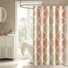 unique shower curtains. Madison Park Claire Shower Curtain In Spice Unique Curtains