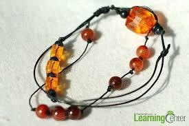 diy a leather beaded wrap bracelet