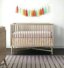 Dwell Studio Tulip Crib Bedding 2 Piece Nursery Set Mid Century Crib