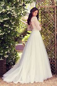 the most beautiful wedding dresses from the back