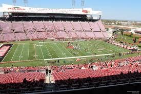 seat view for cardinal stadium loge 8