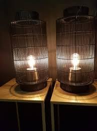 Lamp Draadstaal Zwart
