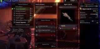 Monster Hunter World Iceborne Understanding Weapon