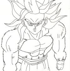 best dragon ball z gogeta coloring pages free coloring pages free
