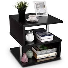 end table night stand 3 tier sofa side