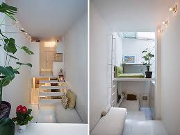 if space permits it the design of the living quarters can include more than the traditional for micro apartment two levels