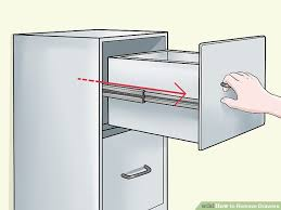 5 Ways to Remove Drawers - wikiHow