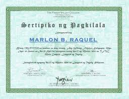 Filipino Thesis Statement