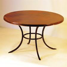 curved solid leg round dining table base