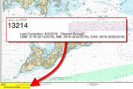 Nautical Chart Numbers