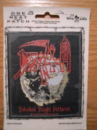 Death Individual Thought Patterns Impressive Death Individual Thought Patterns SewIron Woven Patch From Wizard