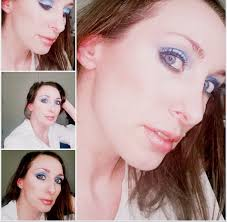 how to wear blue eyeshadow when you have blue eyes