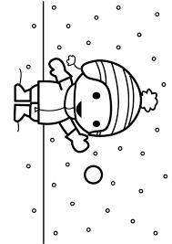 Kleurplaat Sneeuwbal Gooien Afb 26883 Images