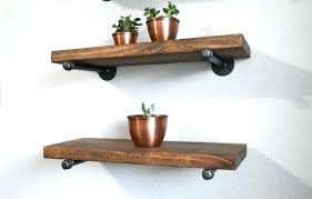 full size of 10 cm deep floating shelf shelves inch farmhouse industrial wall with pipe brackets large