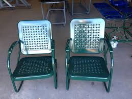 antique vintage metal lawn chairs