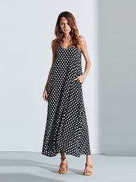 Plus size Bohemian <b>Women Sexy</b> Strap <b>Polka Dot</b> Backless V Neck ...
