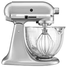 kitchen aid home design breathtaking image inspirations kitchenaid ksm105gbcmc qt tilt head stand mixer with glass