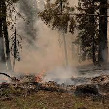 Fire tornadoes, haze, clouds: US blazes ...