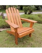 composite adirondack chairs. International Caravan Royal Fiji Adirondack Patio Chair (Weather Resistant/Water Resistant - Wood/ Composite Chairs Better Homes And Gardens