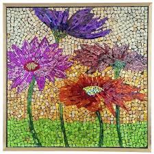 glass mosaic tile wall art